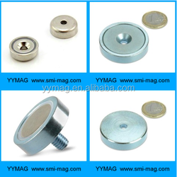 Chinese supplier neodymium holding magnet/potted magnet