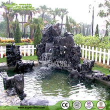 Manmade Fiberglass Garden Ornamants Rockery Artificial Landscaping Stone Rockery