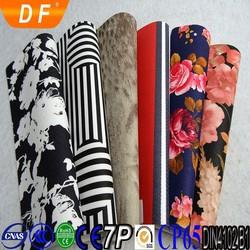 China Alibaba Wholesale Promotional PU leather tote bag lady fashion bag