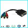 Monitor Projector Cable 15 pin d sub vga rgb rca cable