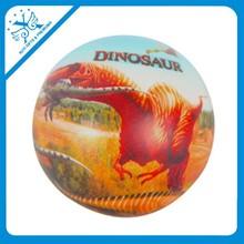 Fútbol dinosaur bola de la tensión de dibujos animados esqueleto de color bolas de espuma de poliestireno