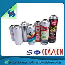 Supply Colorful Empty Hot Sale Different Size Aerosol Tin Can From Guangzhou