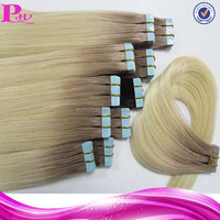 remy tape sticker hair extensions