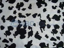 2012 HOT SELL A128 velboa Cow animal print faux fur fabric