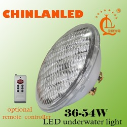 HOT sale stainless shell first class marine led pool light