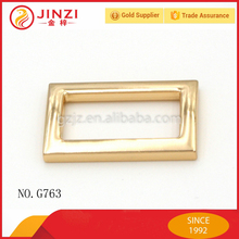 Metal Custom Made iron Oblong Buckle Square Ring for Bag Hardware