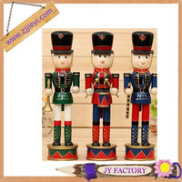 Homemade wood crafts antique wood craft traditional soldier nutcracker