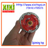 Safety material novelty plastic spinning top toy