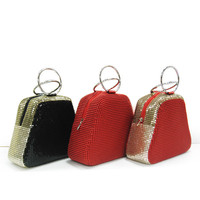 Vogue aluminium mesh cosmetic bag
