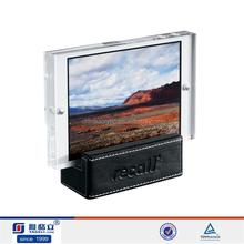 China OEM custom acrylic photo frames bulk/POP acrylic picture frames bulk/acrylic poster frame