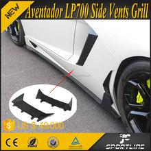 OEM Style Aventador LP700 Carbon Fiber Auto Exterior Accessories for Lamborghini 2011-2015 2pcs/set