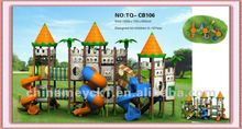 2014 high quality children used outdoor playground equipment for sale TQ-CB106