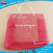 Good factory customized promotional clear pvc sewing gift bag in cheap price