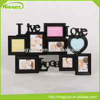 Handmade plastic frame wholesale cheap latest design of photo frame