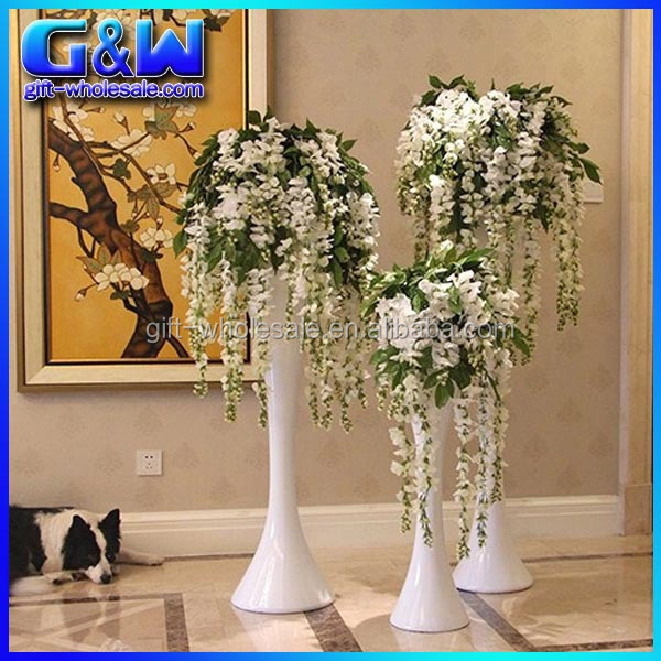 Wholesale Cheap Wedding White Vines Artificial Wisteria Flowers For