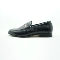 top rank material loafer style genuine leather dress shoes for men