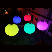 2015 Free shipment diameter 1.5m led balloon,cheap inflatable led balloon light, led party balloon