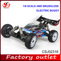 1/8 Scale 4WD electric brushless car trucks RC Buggy