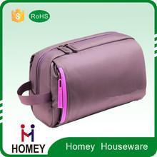 China Wholesale felt / pu cosmetic bag, waterproof toiletry bag