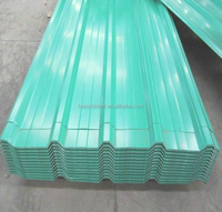 Steel Material Light Weight Color Coated Corrugated Steel Roofing Sheet
