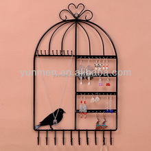 different kind popular metal jewelry display holders jewelry display wall unit high quality