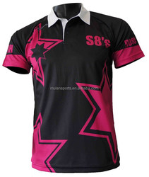 Polo-neck Sports Shirt for Badminton Wholesale in China
