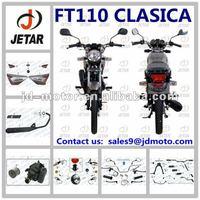 ITALIKA FT110 CLASICA partes