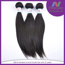 South indian peruvian natural black long straight CHEVEUX HUMAINS