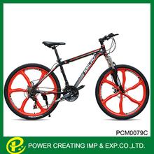 Six spoke one wheel chinese carbon bicycle mountain bike