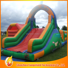 Customized Cheap inflatable slip and slide