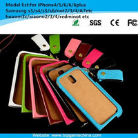 2015 new style cell phone wallet case for samsung galaxy note 3