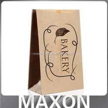 Fashion Recyclable kraft paper bag with clear window
