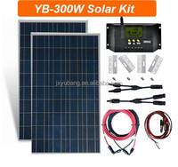 300W (2 X 150) Watt panel solar sistema de energia solar kit de paneles solares fotovoltaica