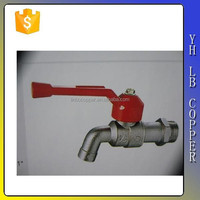 Long handle Zinc/brass grease trap Bibcock for water LINB-1119