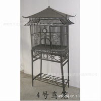 ancient stipe vintage bird cage special design for you