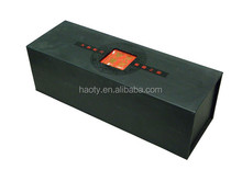 Printed win paper display box with sleeve