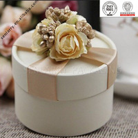 Fashionable Delicate Recyclable circle shape cardboard box wholesale design certificated by ISO BV SGS,ex factory price!