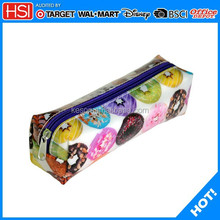 BSCI audited pvc square wholesale pencil case for new products 2015