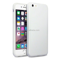TPU Silicone Gel Case Cover and Flexible Rubber Translucent For iPhone 6 Case
