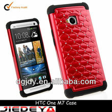 Rhinestone jewelled cell phone cases for HTC