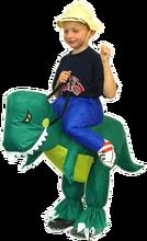 German standard christmas Inflatable dinosaur kids costume -24423