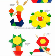 hot sales promotion Education Toy magnetic tangram jigsaw puzzle/jigsaw puzzle instructions/150 pieces jigsaw puzzle
