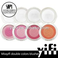 Manufacture! Missyifi mix colors makeup blush palette surplus cosmetics
