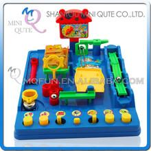 Mini Qute Laberinto 3D mágico bola intelectual para chicos juguete educativo 3D puzzle exploración juego plataformas NO.953