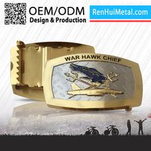 Hot selling custom logo uniform belt buckle