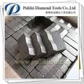 segmento de diamante para múltiples hoja de sierra de corte de piedra herramientas