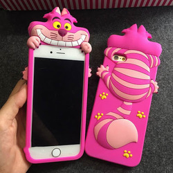 new products 2016 innovative product 3D cartoon phone case for iphone 6 6 plus alicia silicon case