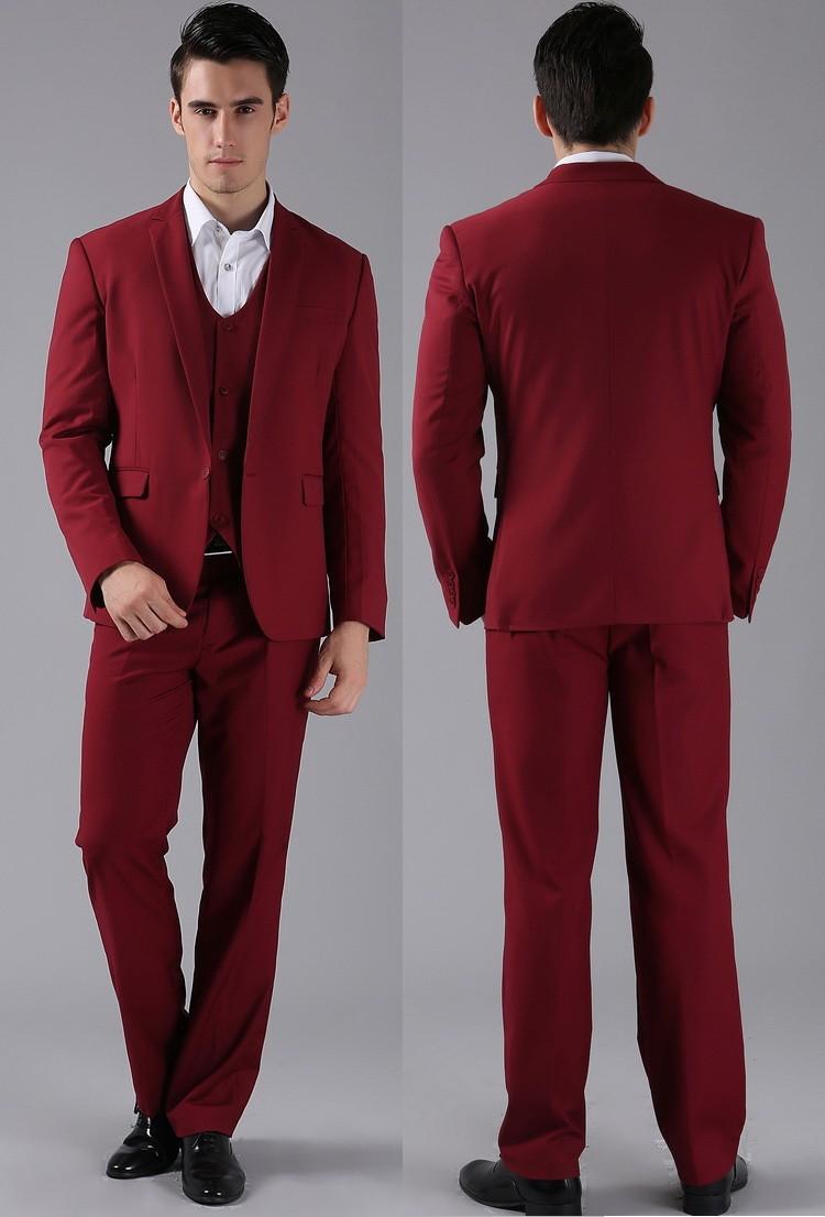 HTB1 3toFVXXXXclXXXXq6xXFXXX2 - (Jackets+Pants) 2016 New Men Suits Slim Custom Fit Tuxedo Brand Fashion Bridegroon Business Dress Wedding Suits Blazer H0285