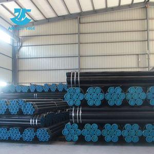API Spec 5l B tubería de acero sin costura de carbono