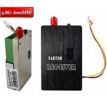 Partom FPV 5.8G 9CH 600mw Wireless AV Transmitter And Receiver